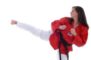 korean martial art style taekwondo